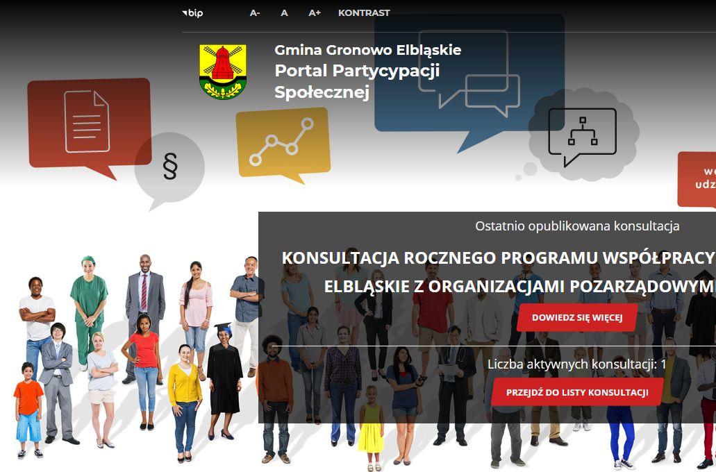 Ilustracja do informacji: Konsultacje Społeczne