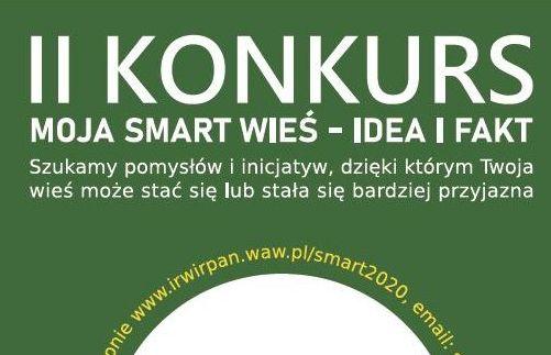Ilustracja do informacji: II Konkurs Moja Smart Wieś
