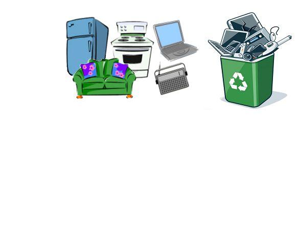 Ilustracja do informacji: Zbiórka odpadów wielkogabarytowych i elektrośmieci
