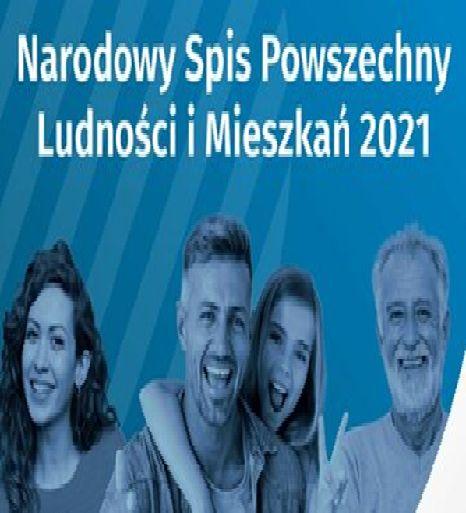 Ilustracja do informacji: Narodowy Spis Powszechny Ludności i Mieszkań w 2021r