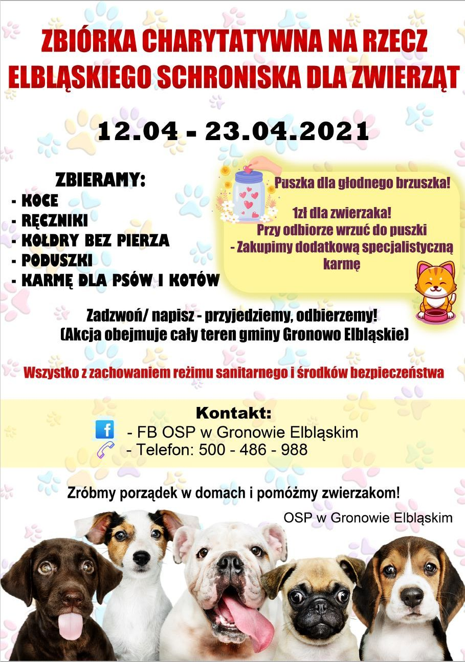 Ilustracja do informacji: Zbiórka Charytatywna