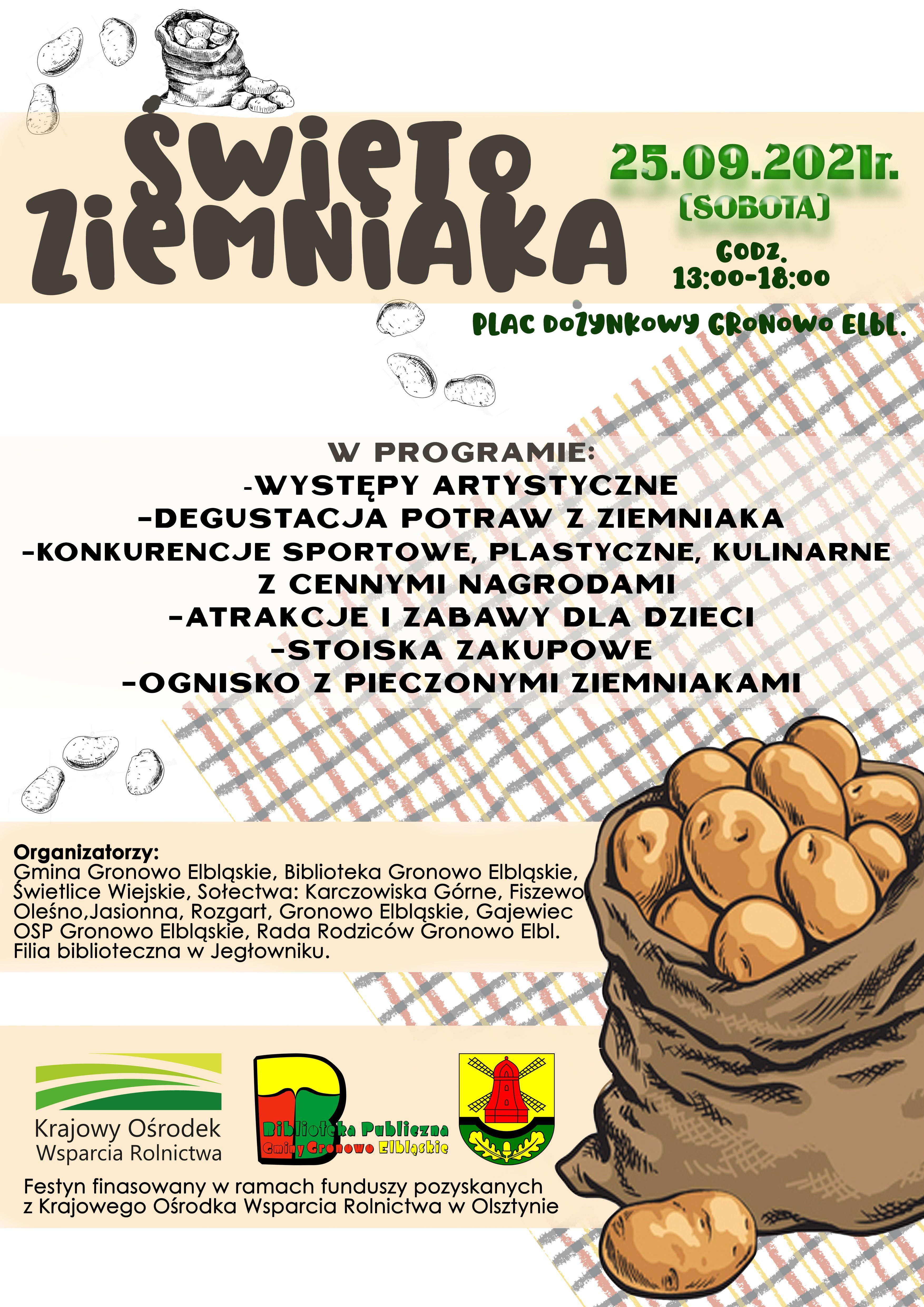 Ilustracja do informacji: Dzień Ziemniaka