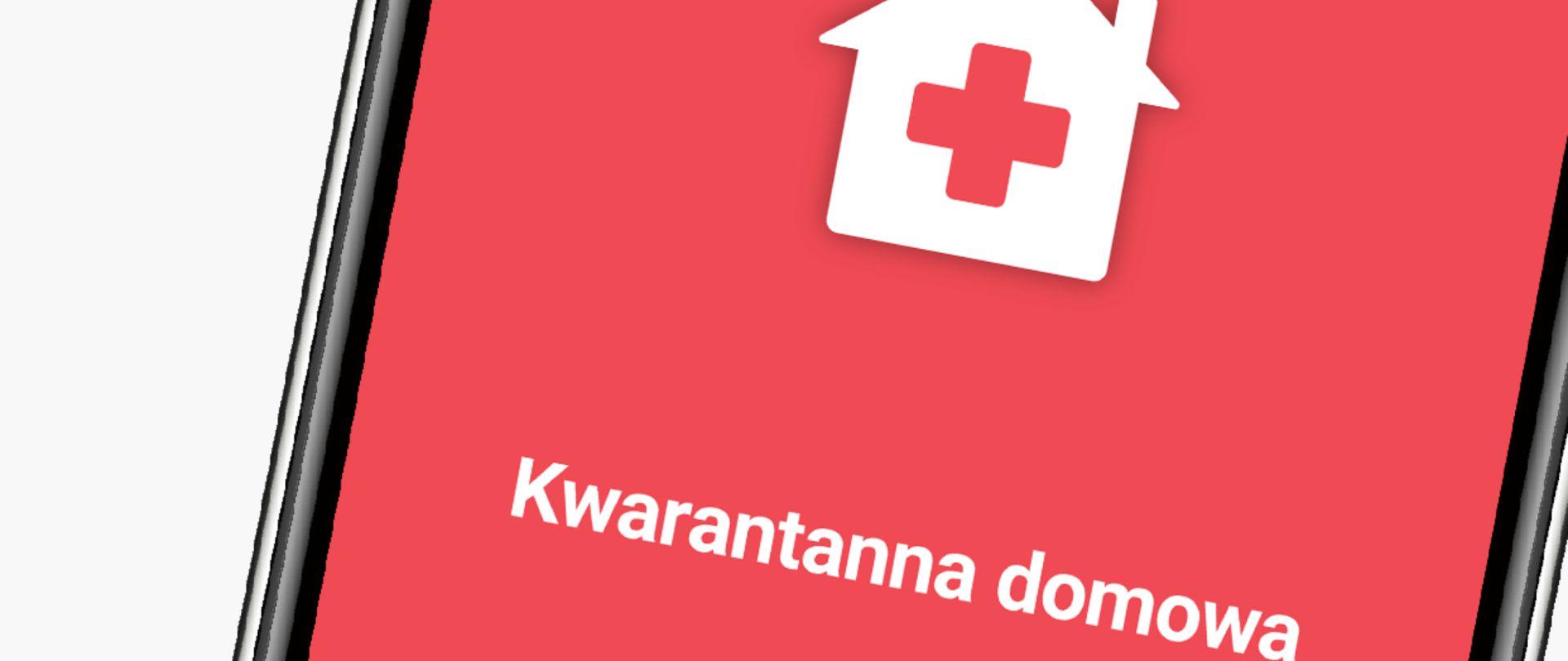 Ilustracja do informacji: Aplikacja Kwarantanna domowa